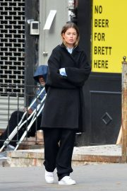 Doutzen Kroes on the Set of a Photoshoot in New York 2018/11/30 2