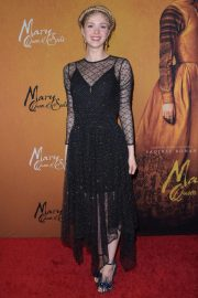 Elena Kampouris at Mary Queen of Scots Premiere in New York 2018/12/04 2