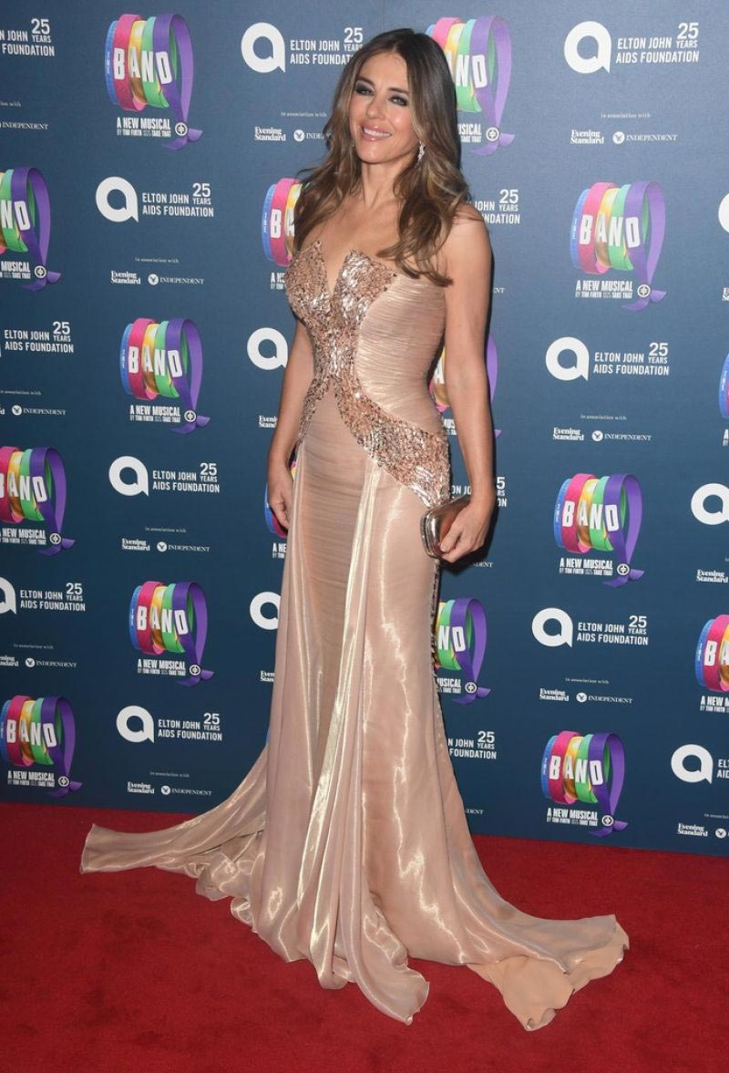 Elizabeth Hurley at The Band Charity Gala Performance in London 2018/12/04 1