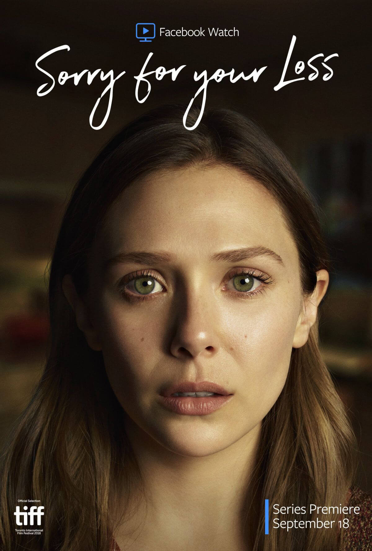 Elizabeth Olsen at Sorry for Your Loss Poster and Trailer 1