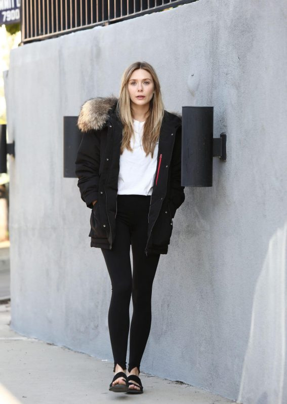 Elizabeth Olsen for Bosideng's Holiday 2018 Collection Photos 1
