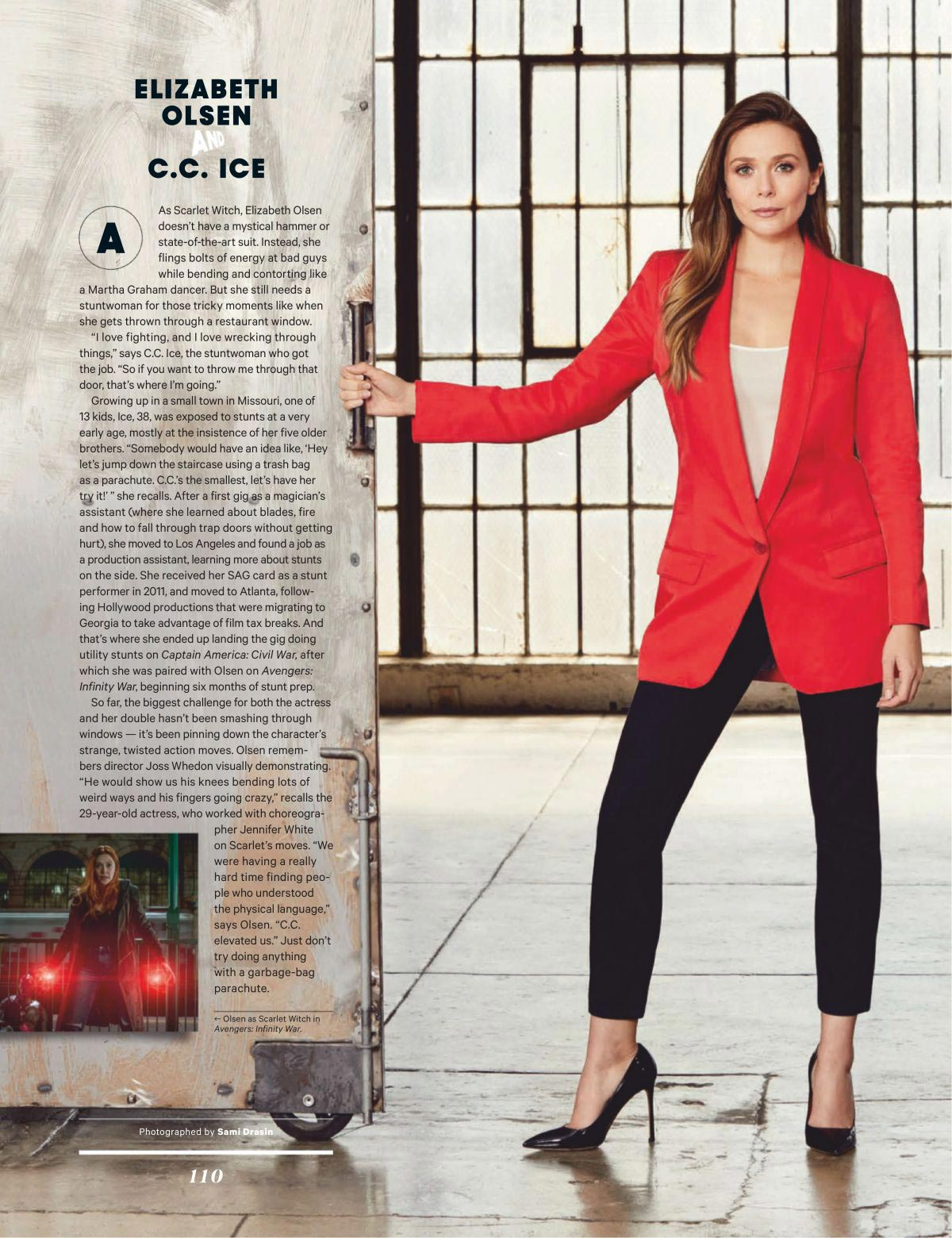 Elizabeth Olsen in The Hollywood Reporter Magazine, December 2018 1
