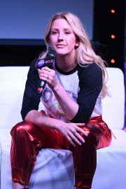 Ellie Goulding at Radio Station Hits 97.3 in Hollywood 2018/12/05 11