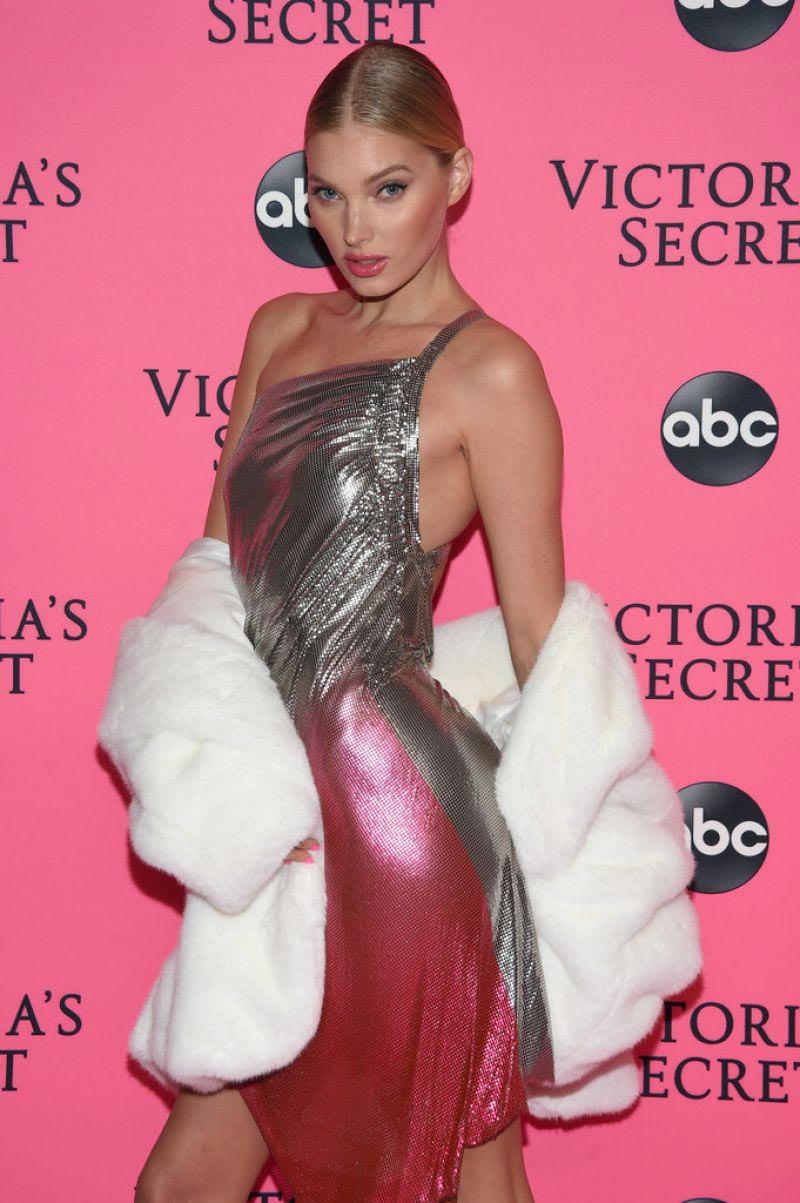 Elsa Hosk at Victoria's Secret Viewing Party in New York 2018/12/02 1