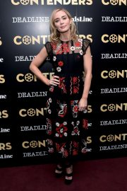 Emily Blunt and Emily Mortimer Mary Poppins Returns Presentation at Contenders New York Presented by Deadline 2018/12/01 2