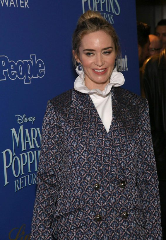 Emily Blunt at Cinema Society's Screening of Mary Poppins Returns in New York 2018/12/17 1