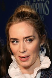 Emily Blunt at Cinema Society's Screening of Mary Poppins Returns in New York 2018/12/17 2