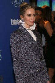 Emily Blunt at Cinema Society's Screening of Mary Poppins Returns in New York 2018/12/17 5