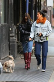 Emily Ratajkowski Out and About in New York 2018/12/10 1