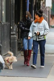 Emily Ratajkowski Out and About in New York 2018/12/10 2