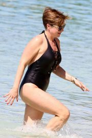 Emma Forbes in Swimsuit on Holiday in Barbados 2018/12/24 7