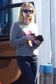 Emma Roberts at a Gas Station in Hollywood 2018/11/30 10