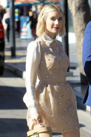 Emma Roberts at Ryan Murphy's Walk of Fame Ceremony in Hollywood 2018/12/04 7