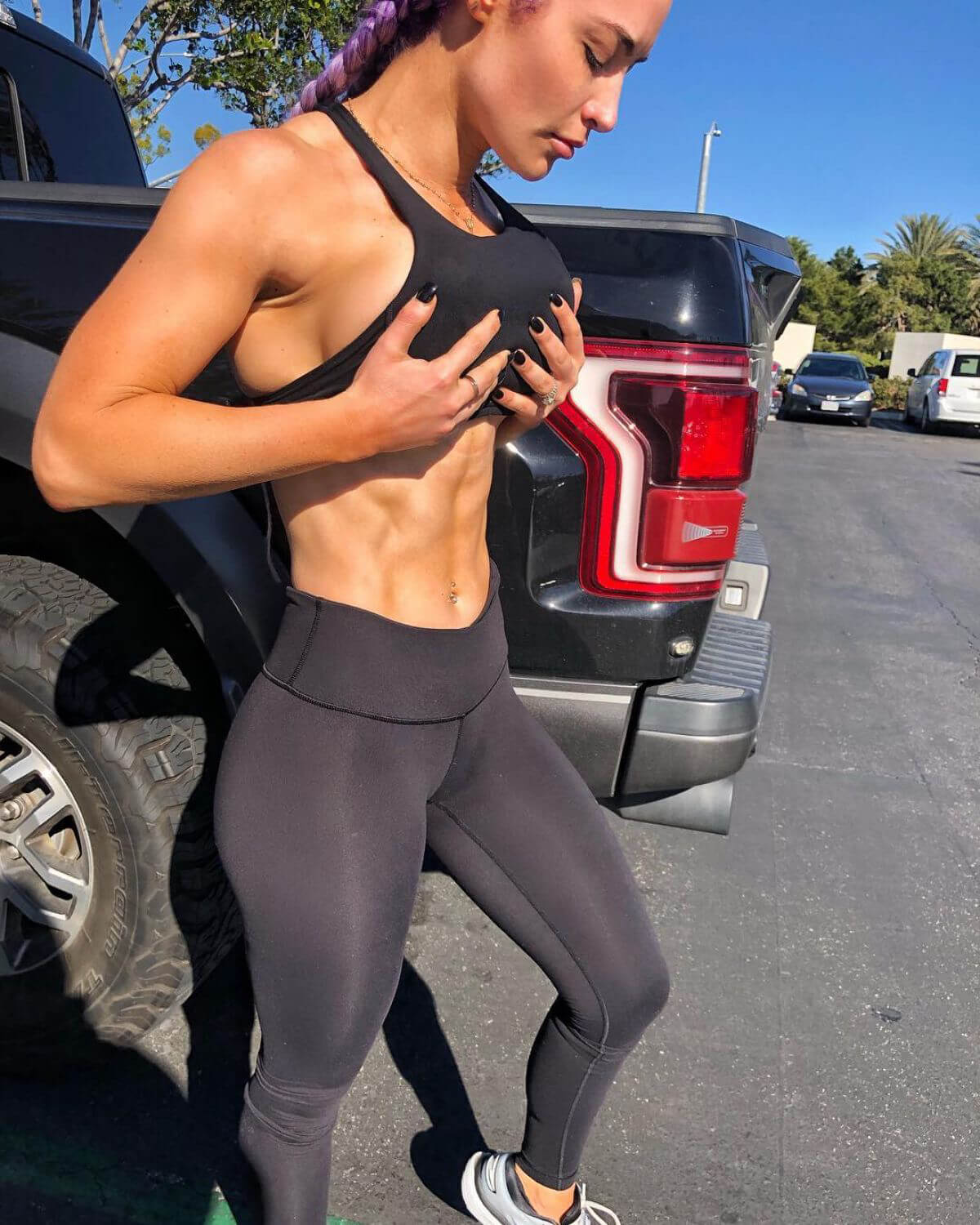 Eva Marie in Instagram Pictures, December 2018 1