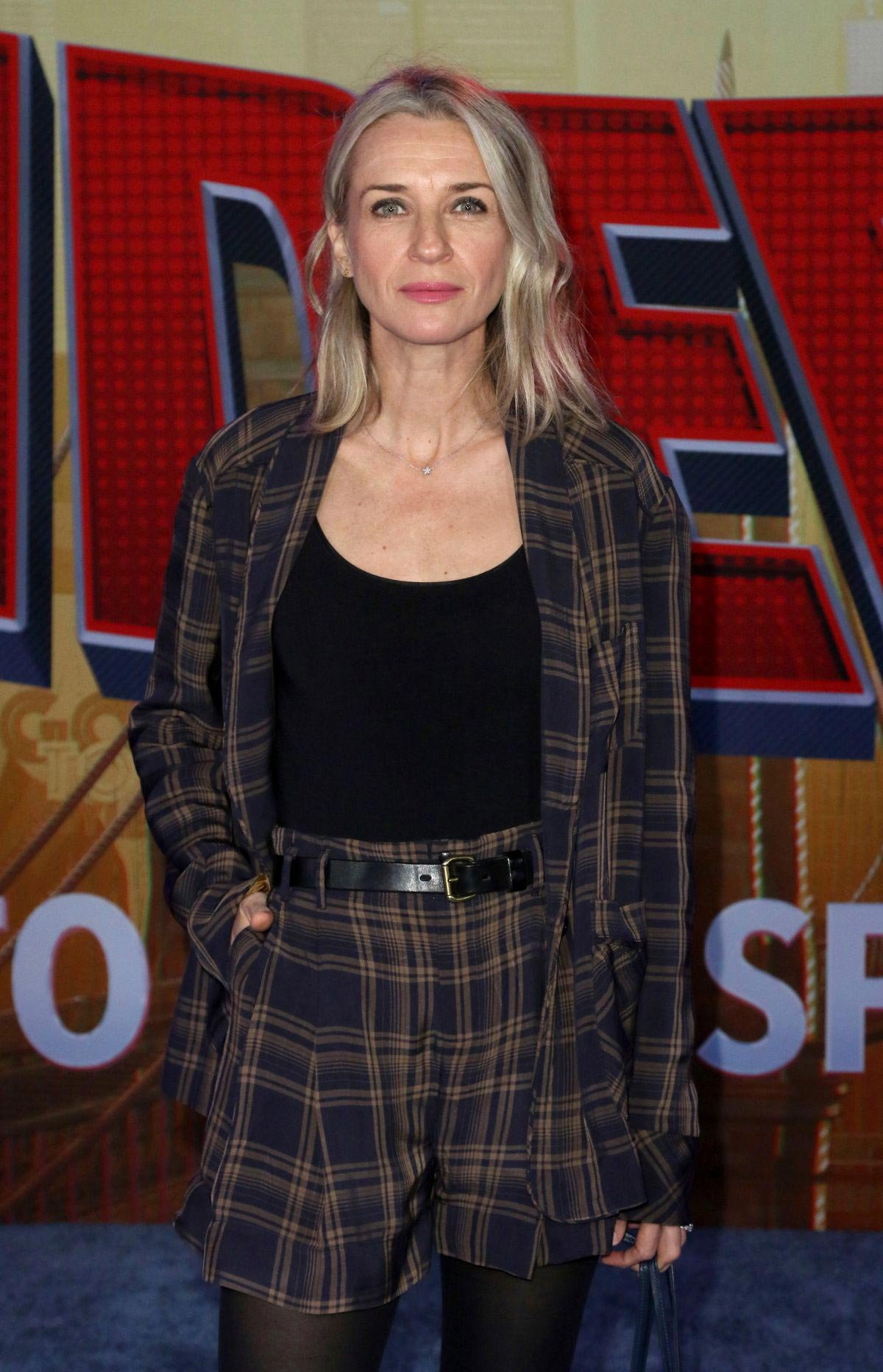 Ever Carradine at Spider-man: Into the Spider-Verse Premiere in Hollywood 2018/12/01 1