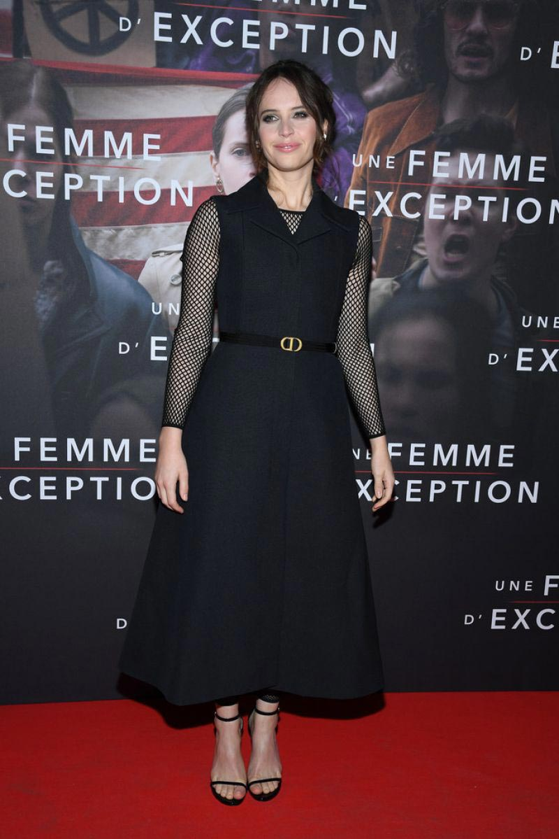 Felicity Jones at On the Basis of Sex Premiere in Paris 2018/12/04 1