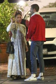 FKA twigs and Shia Labeouf Out for Dinner 2018/12/24 3