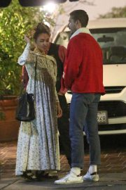 FKA twigs and Shia Labeouf Out for Dinner 2018/12/24 10
