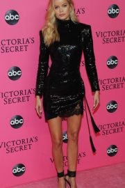 Frida Aasen at Victoria's Secret Viewing Party in New York 2018/12/02 1