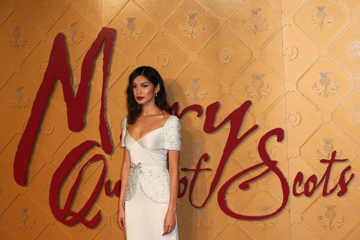 Gemma Chan at Mary Queen of Scots Premiere in London 2018/12/10 1
