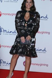 Georgia May Foote at Virgin Money Giving Mind Media Awards in London 2018/11/29 4
