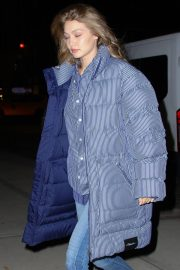 Gigi Hadid Arrives at Her Apartment in New York 2018/12/10 1