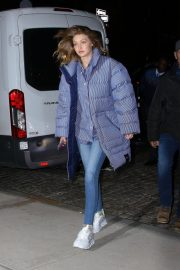 Gigi Hadid Arrives at Her Apartment in New York 2018/12/10 2