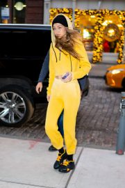 Gigi Hadid Out and About in New York 2018/12/29 10
