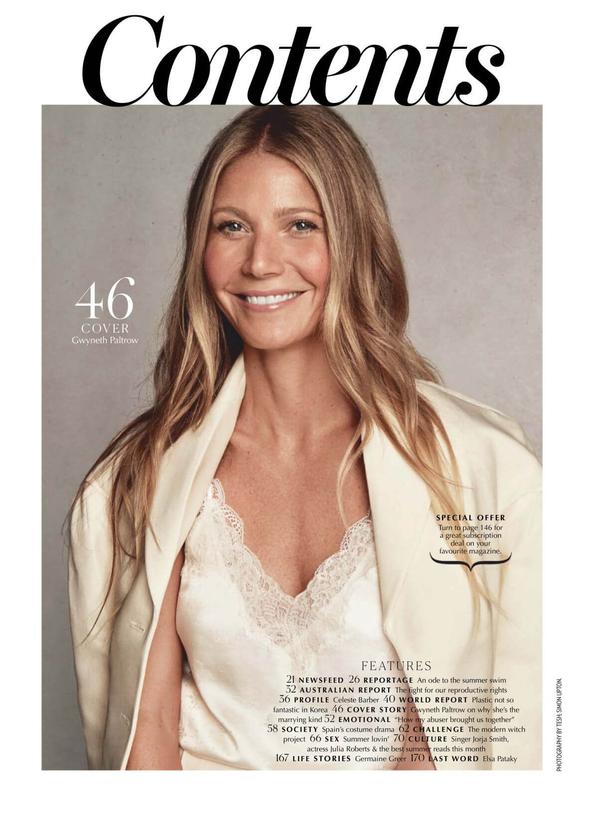 Gwyneth Paltrow for Marie Claire Magazine Australia February 2019 1