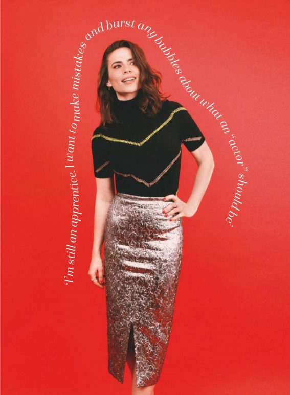 Hayley Atwell in Marie Claire Magazine, UK January 2019 1