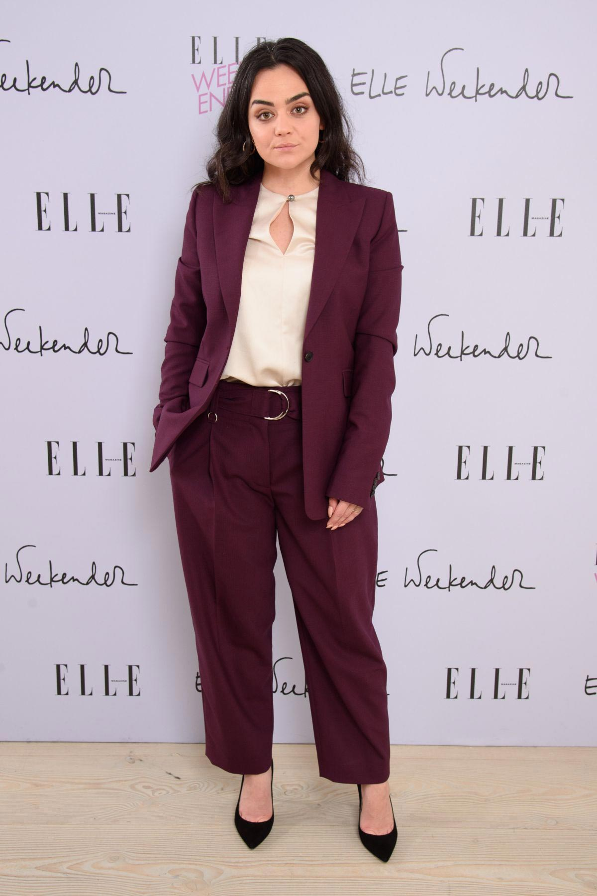 Hayley Squires at Elle Weekender 2018 at Saatchi Gallery in London 2018/12/02 1
