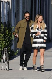 Heidi Klum and Tom Kaulitz Out with His Dog in Los Angeles 2018/12/03 3