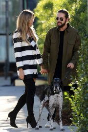 Heidi Klum and Tom Kaulitz Out with His Dog in Los Angeles 2018/12/03 4