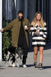 Heidi Klum and Tom Kaulitz Out with His Dog in Los Angeles 2018/12/03 5