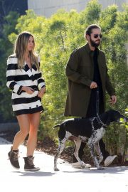 Heidi Klum and Tom Kaulitz Out with His Dog in Los Angeles 2018/12/03 7