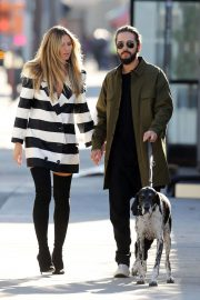 Heidi Klum and Tom Kaulitz Out with His Dog in Los Angeles 2018/12/03 9