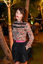 Helena Christensen at 1 Hotel South Beach at Art Basel in Miami 2018/12/07 2