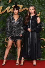 Jade Thirlwall and Leigh-Anne Pinnock at British Fashion Awards in London 2018/12/10 3