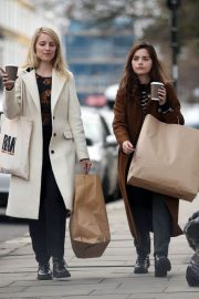 Jenna Coleman and Dianna Agron Out in London 2018/12/06 1