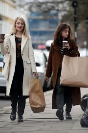 Jenna Coleman and Dianna Agron Out in London 2018/12/06 3