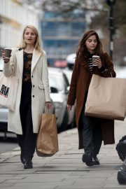 Jenna Coleman and Dianna Agron Out in London 2018/12/06 4