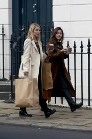 Jenna Coleman and Dianna Agron Out in London 2018/12/06 5