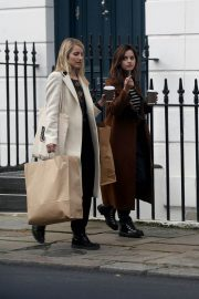 Jenna Coleman and Dianna Agron Out in London 2018/12/06 6