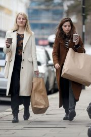 Jenna Coleman and Dianna Agron Out in London 2018/12/06 7