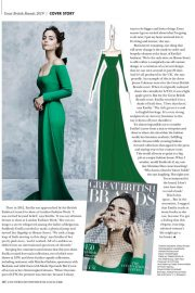 Jenna Coleman in Great British Brands Magazine 2019 Issue 4