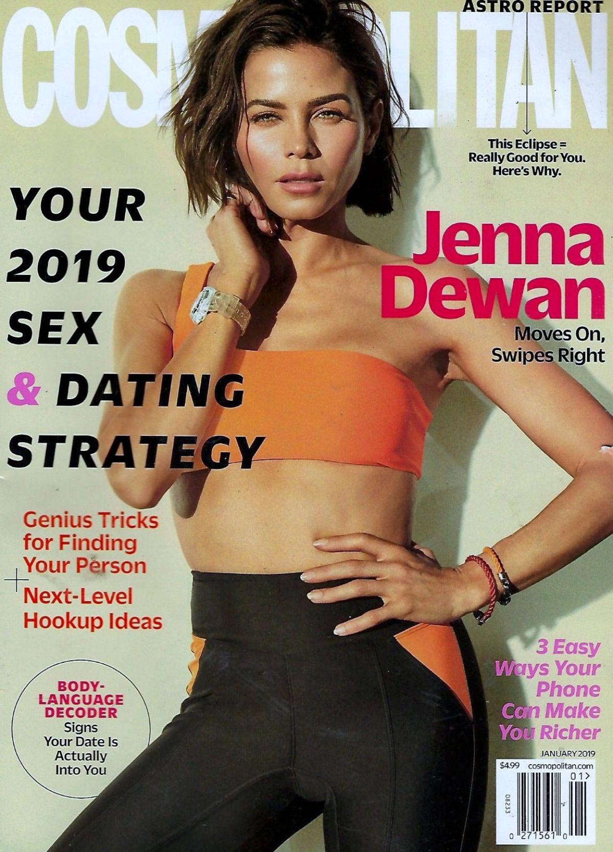 Jenna Dewan on the Cover of Cosmopolitan Magazine, January 2019 1