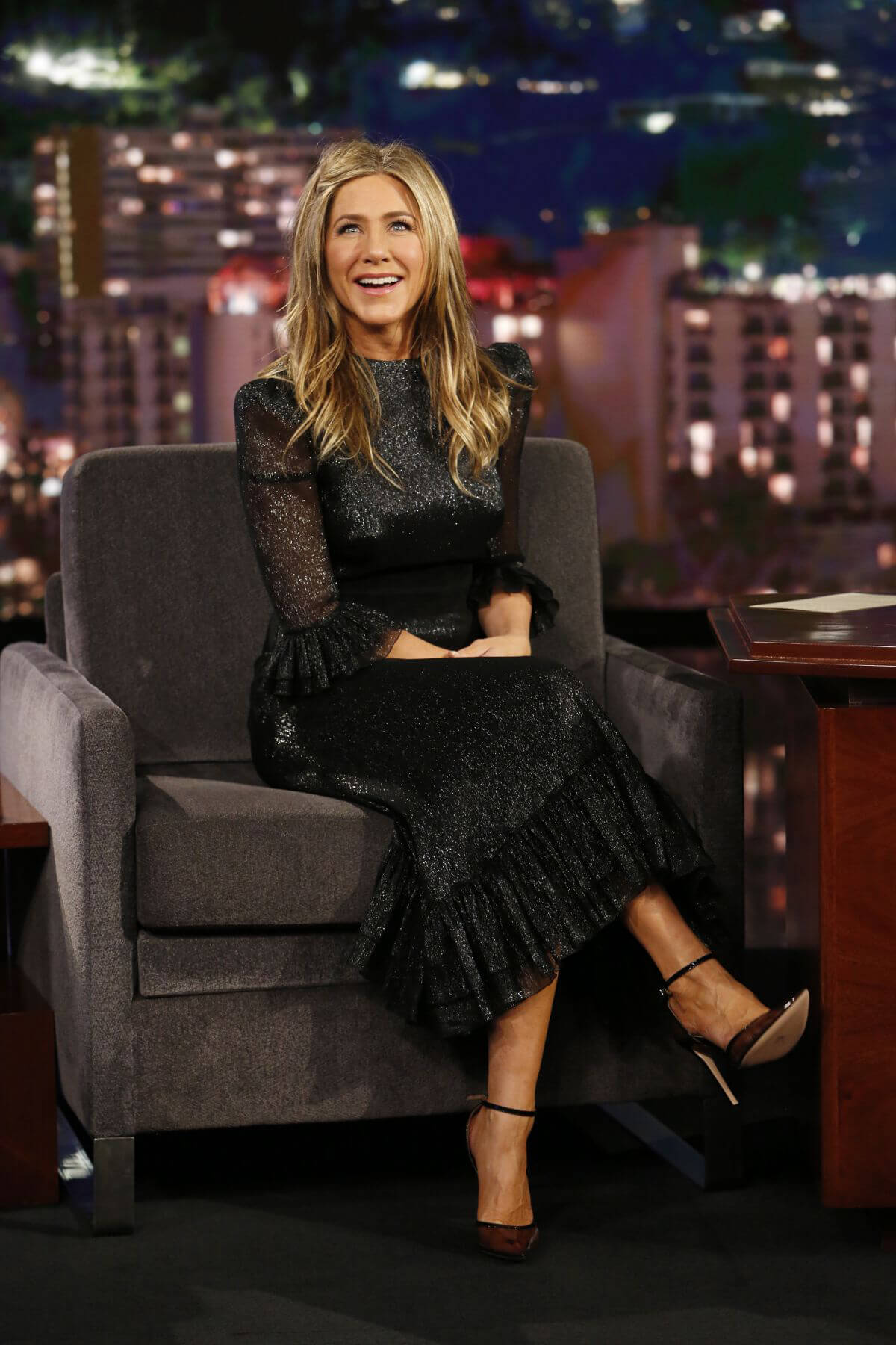 Jennifer Aniston at Jimmy Kimmel Live in Los Angeles 2018/12/05 1