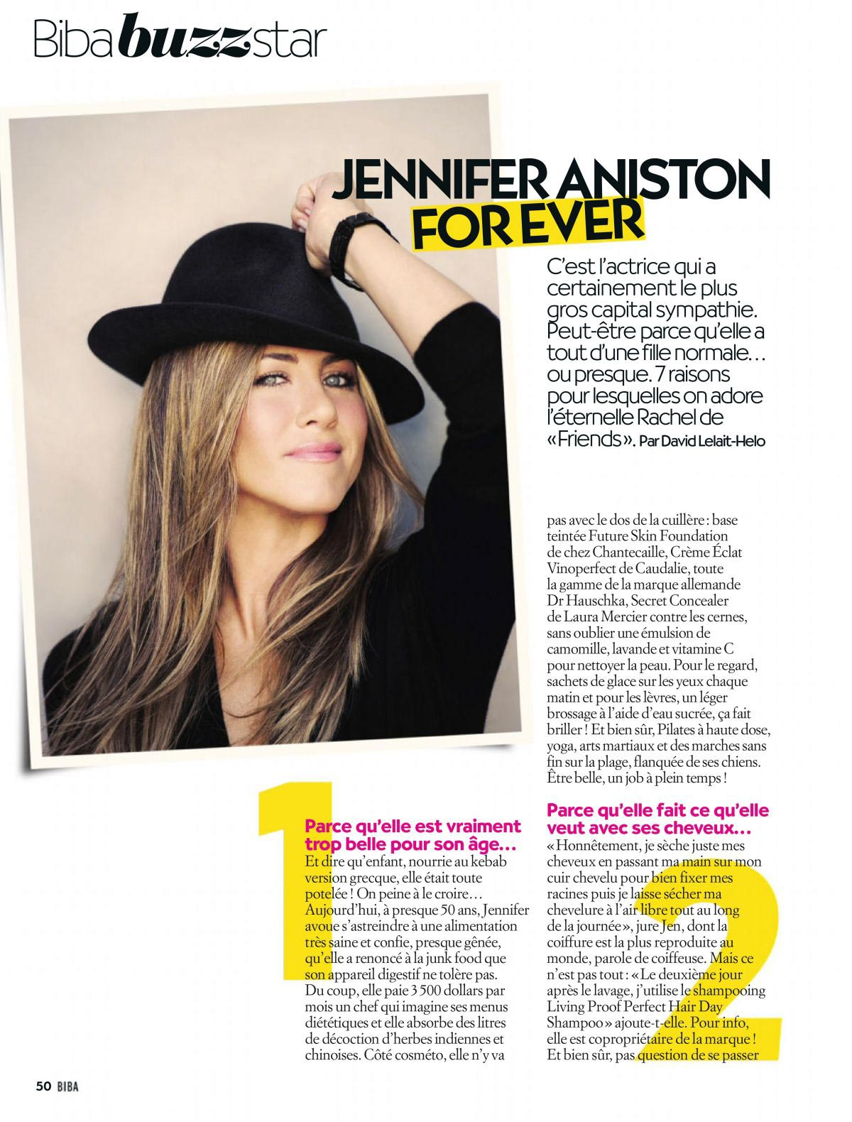 Jennifer Aniston in Biba Magazine, December 2018 1