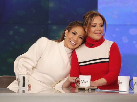 Jennifer Lopez at The View Show 2018/12/12 1
