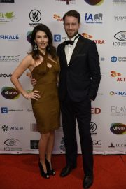 Jewel Staite at UBCP/ACTRA Awards Gala at Vancouver Playhouse 2018/12/08 1